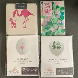 Party Supplies - Flamingo Themed Party Pack